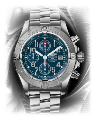 Breitling Aeromarine Avenger in Air Force Blue