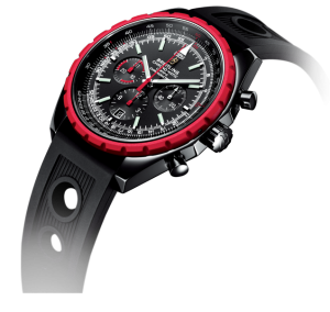 An image of the Breitling Chrono-Matic Blacksteel Watch