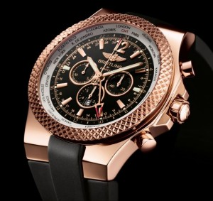 An image of a fake Breitling for Bently GMT Watch